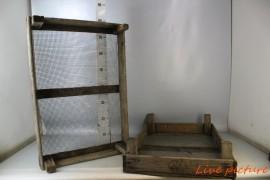 DecoratiemateriaalScatola di legno per bulbi